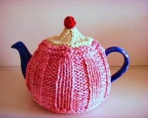 Strawberry Tea Cosy Knitting Pattern : Popular items for hand knit tea cosy on Etsy
