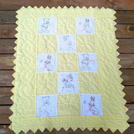Warm Handmade Child's Quilt
