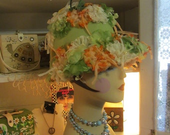 "60's bowler style hat by ""Joske's of Texas"""