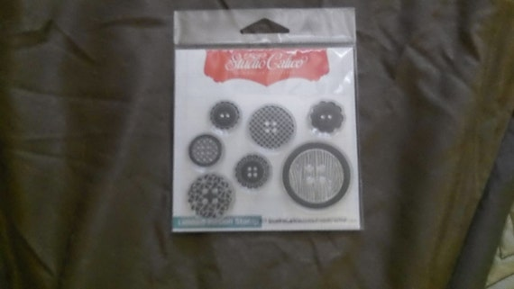 Studio Calico Buttons Stamp Set
