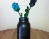 Chalkboard Surface Mason Jar (Quart)
