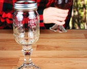 Redneck Wine Glass (Hand-made and Made to order). Minimum two per purchase please.