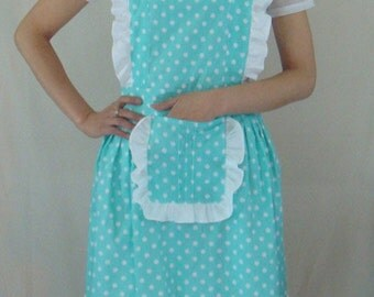 Beautiful Handmade full apron dress  for kitchen cooking round  Accessories