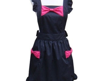 Beautiful Handmade full apron dress  for kitchen cooking  fashion Accessories