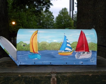 Hand-painted Mailboxes