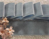 """Vintage Luxurious 1940's Italy Rayon velvet ribbon 1.5""""sold by the yd"""