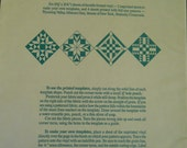 Great American Quilts- Quilting Templates