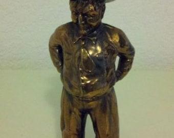 Death Valley Scotty - cast metal figurine
