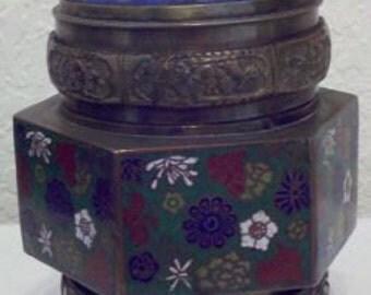 Vintage Chinese Tea Jar