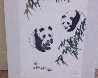 Chinese Panda Wall Art