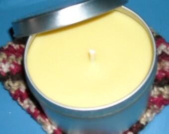 Vanilla Hazelnut 8 oz soy candle