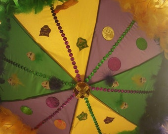 "14"" Mardi Gras second line Umbrella"