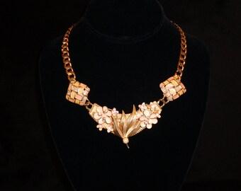 Flowery and Elegant Vintage Neck Piece