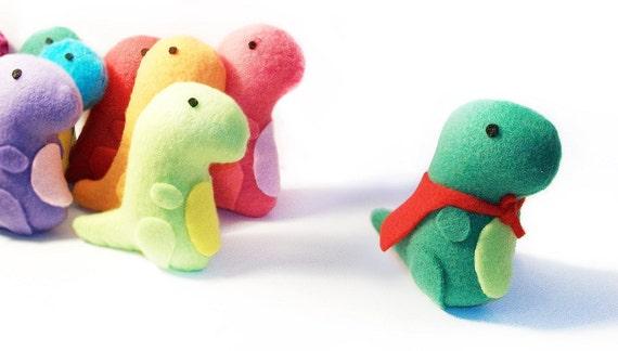 Mini Dinosaur Plush