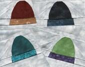 Drop Of A Hat - Paper Piecing