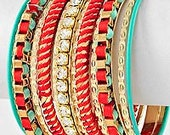 9 stack Bracelets