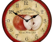 Apple Clock - TheBigClockStore