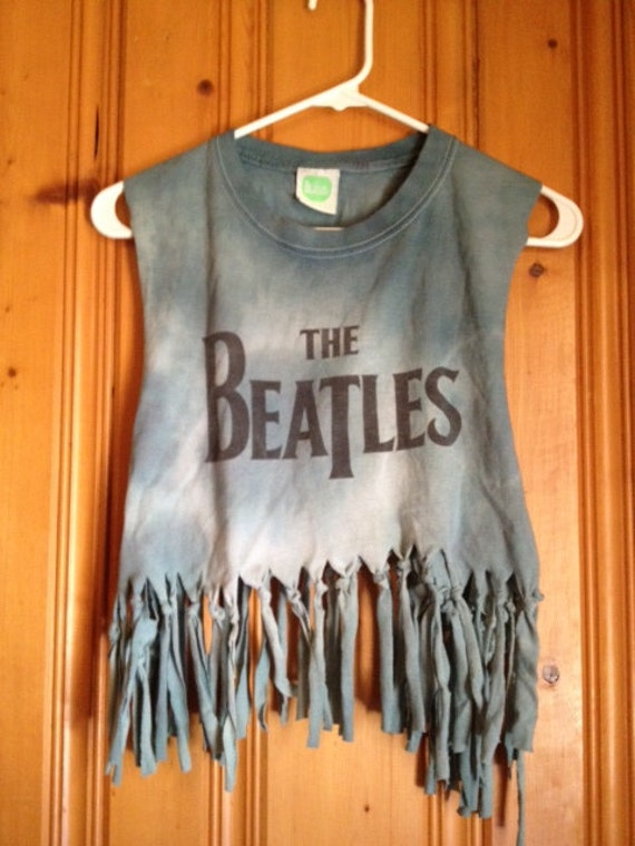 Tie-Dye Beatles Fringe Shirt