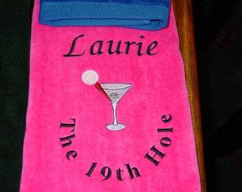 Golf towel 19th Hole Golftiney