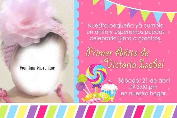 Birthday Invitations In Spanish