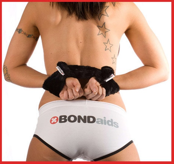 BLACK Hand Cuff Restraints Adult Bondage BDSM