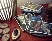 Reading - Tasseography, tarot, rune or pendulum.