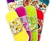9 Organic Moonpads Daypads Reusable Menstrual Pads - 100% Cotton Cloth, Machine Washable