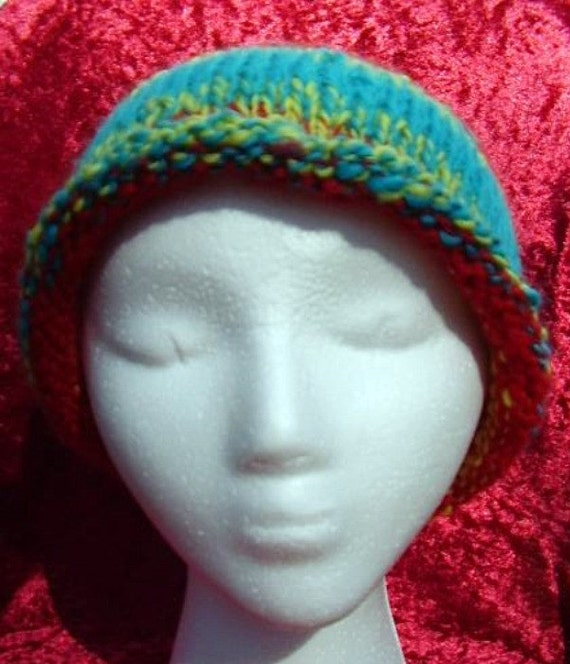 items similar to clown college hat wool hat unique