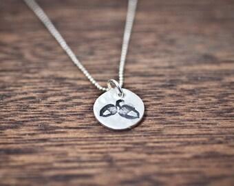 Acorn Necklace - Baby Acorn Necklace - Small Acorn Pendant - Acorn Jewelry - Sterling Silver Acorn Charm - Silver Acorn Charm