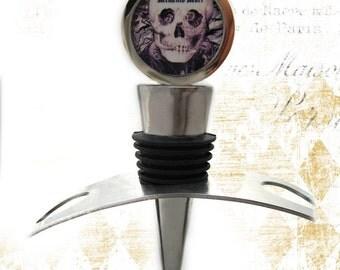 Memento Mori Wine Stopper
