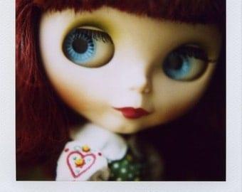 Blythe Doll Polaroid  Print 5x7 - Fine Art Photography