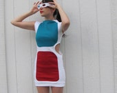 Reserved for Lyndsey 3D Glasses Dress Made to Order