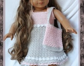 """Annabella's Day Out Crochet Pattern For 18"""" American Girl, Gotz, Madame Alexander and more Dolls"""