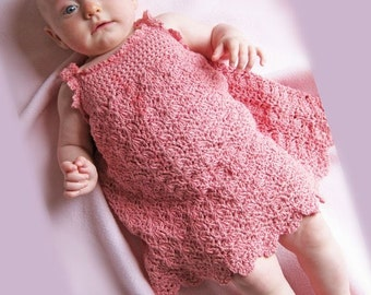 Little Maiden Sundress Baby Crochet Pattern