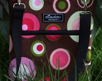 iPad Padded Sling Bag- Retro Dots