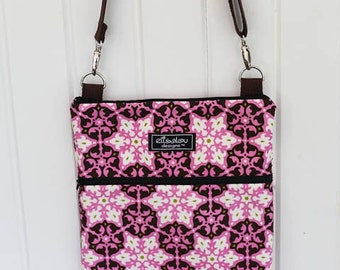 Apple iPad Case Bag Padded Sling- Amy Butler Mosaic
