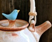 Custom-Made Birdie Teapot - 4 to 6 Weeks for Delivery