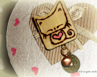 Kitty Cat Pin Brooch