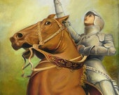 Joan of Arc - The Maid of Orléans - 8x10 Print