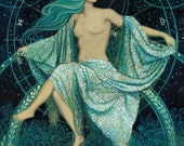Asteria - Goddess of the Stars 16x20 Poster Print