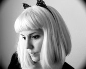 Tatted Lace Kitty Ears - Cat Ear Headband