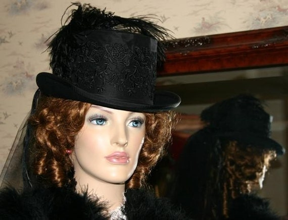 how to make victorian ladies hats