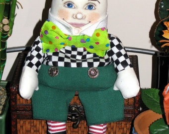 Humpty Dumpty Doll PDF Pattern