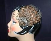 Pheasant Pretty Fascinator Hair Clip