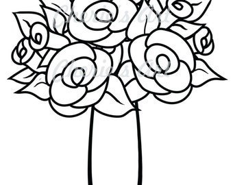 Victorian Houses Coloring Page JPG and PDF Coloring Pages