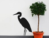 Heron Vinyl Wall Decals