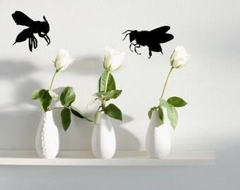4 Bees Vinyl Wall Decals