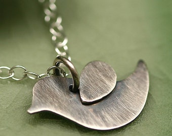 Little Bird Sterling Silver Necklace - Songbird Collection