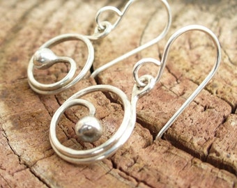 Little Sprouts - Shiny and Tiny Sterling Silver Earrings