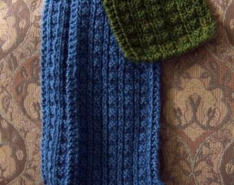 Sailors Rib Scarf Knitting Pattern